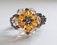 Topaz Flower Ring Tutorial
