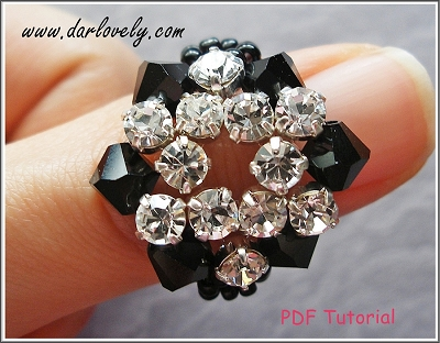 Black Montee Star Ring - Free