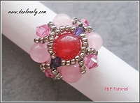 Ruby Rose Purple Square Ring Tutorial