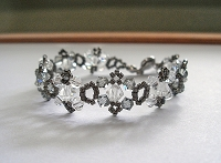 Black Diamond Crystal Bracelet Tutorial