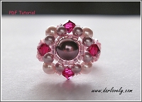 Ruby Pearl Round Ring Tutorial