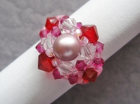 Pearl Pink Ring Tutorial