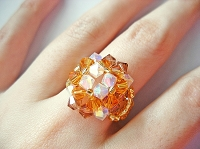 Square Topaz Ring Tutorial