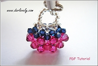 Mini Bag Charm/ Pendant Tutorial