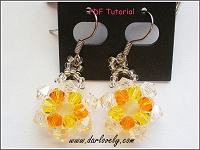 Sun Earrings Tutorial