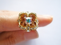 Golden Flower Ring Tutorial
