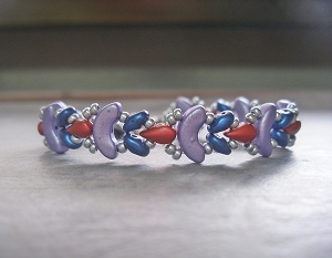 Simple Colourful Shaped Bracelet Tutorial