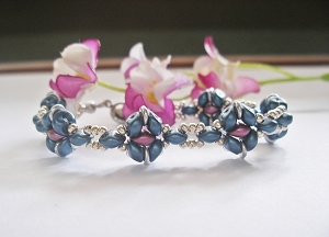 ES-O Flower Bracelet Tutorial