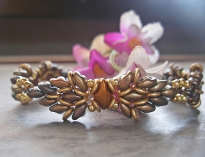 Angel Wings Superduo Bracelet Tutorial