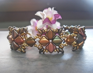 Silky Bead Tiles Bracelet Tutorial