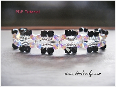 Flower and Butterfly Bracelet