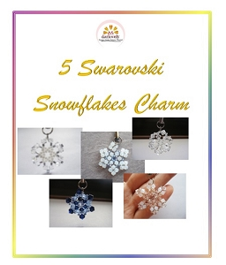 5 Snowflakes Charms Tutorial