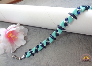Geometric Bracelet Tutorial