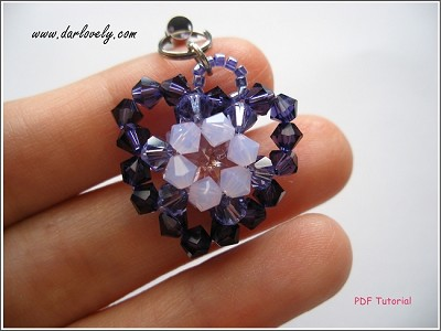 Purple Heart Charm/Pendant Tutorial