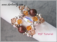 Free Copper Pearl Topaz Ring Tutorial