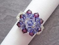 Simple Round Purple Ring Tutorial