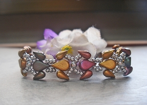 Rainbow Birds Bracelet Tutorial