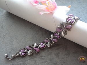 Purple Zoli Bracelet Tutorial