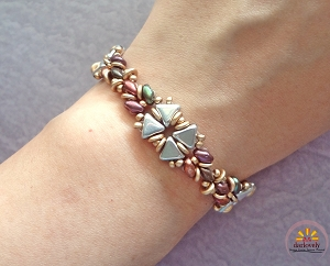 The Kheops Flower Bracelet Tutorial