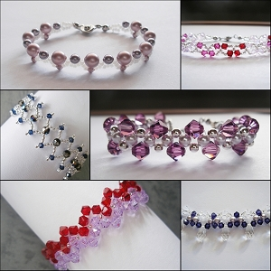 Bracelets for Beginner Bundle Series I (6 Tutorials)