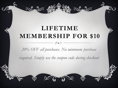 Lifetime Membership Special
